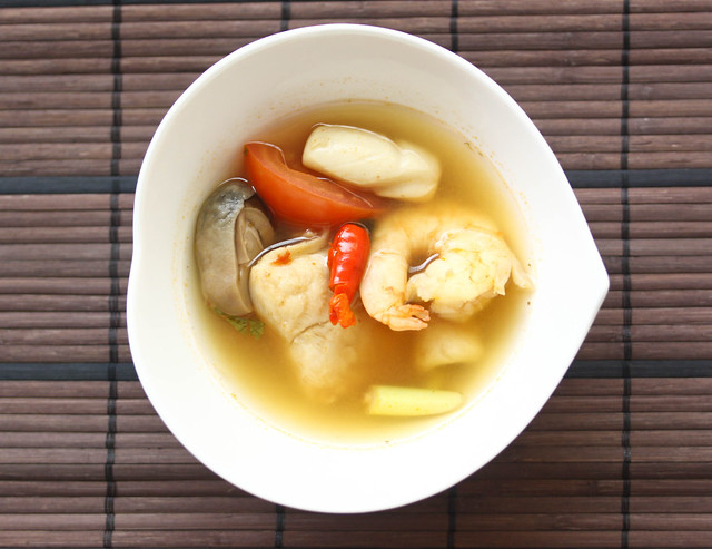 Tom Yum Talay (Seafood) Soup