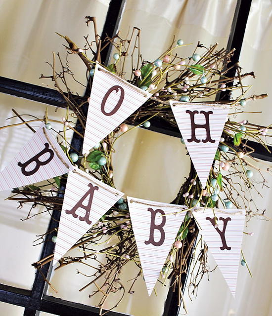 Baby Shower DIY Decor Ideas