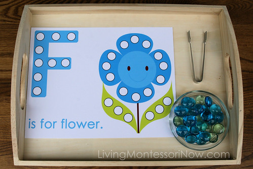 F is for Flower Activity