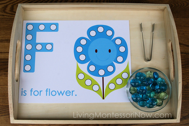 flower Montessori activities