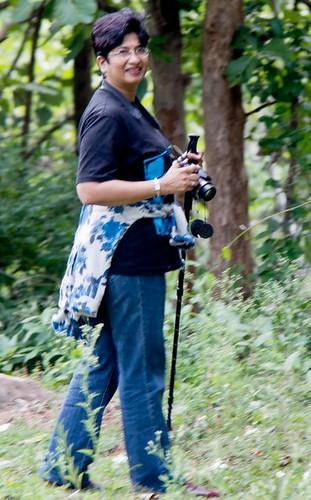 Dr Gita Arjun trekking lover