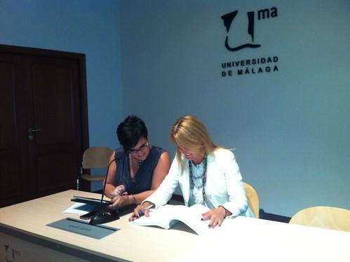 Vocales: Dra. Rosalía Romero Tena (Univ. Sevilla) y Dra. Verónica Marín Díaz (Univ. Córdova))