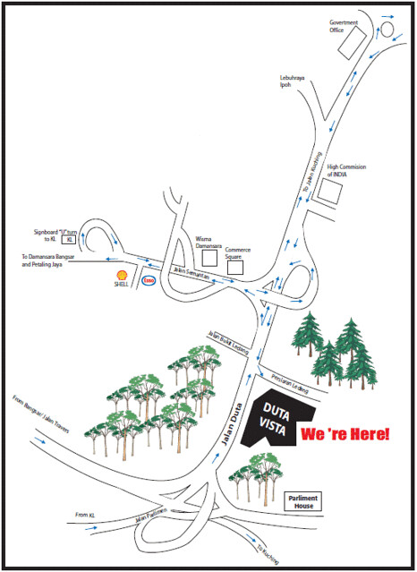 Duta Vista Map