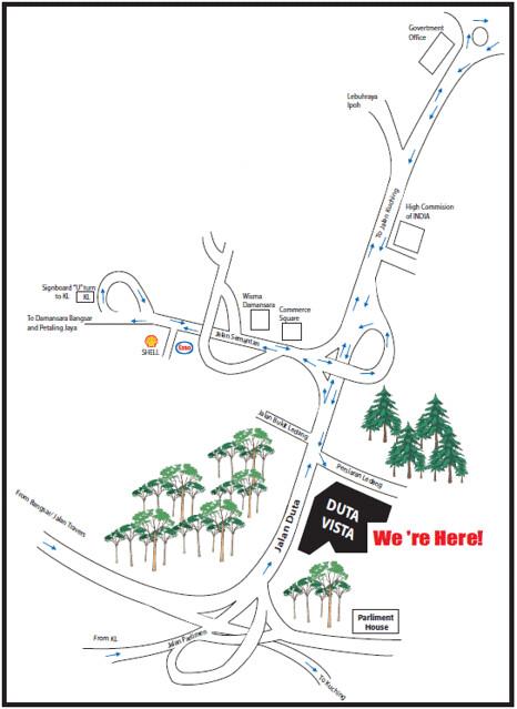 Duta Vista Map