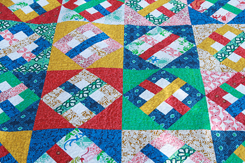 On the Point ~ Ty Pennington Quilt