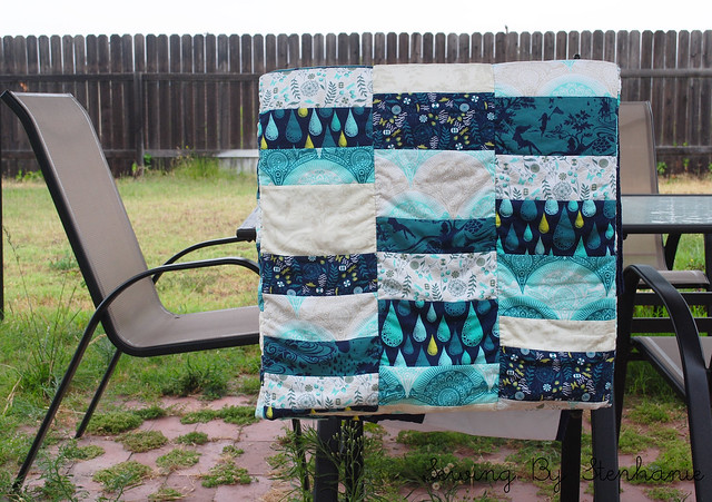 Folded Stacked Coins Quilt