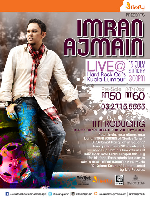 Showcase Imran Ajmain Live di Hard Rock Café