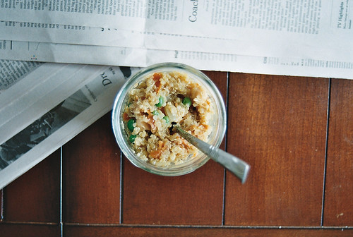 quinoa with ginger miso 2