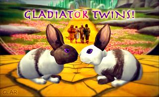 Gladiator Twins!