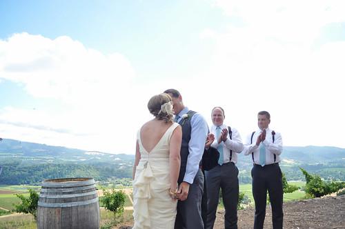 Jefanda Wedding Kiss