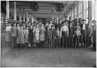 This shows the number of small children on the day shift. Nearly as many small ones on night shift. This is a new up to date mill, December 1908