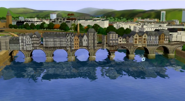 Would this bridge lag? — The Sims Forums