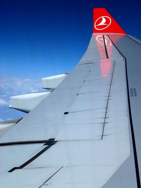 Istanbul - avril 2012 - jour 1 - 023- en vol
