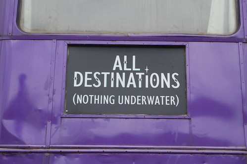 All destinations, nothing underwater