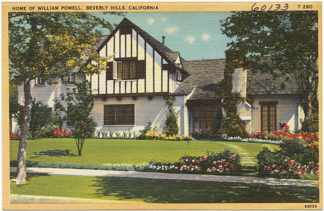 Home of william powell beverly hills california flickr for Beverly hills celebrity homes map