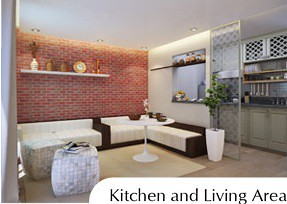 KitchenLiving