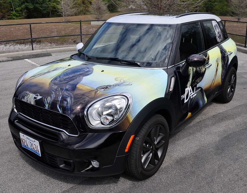 Mini car wrap