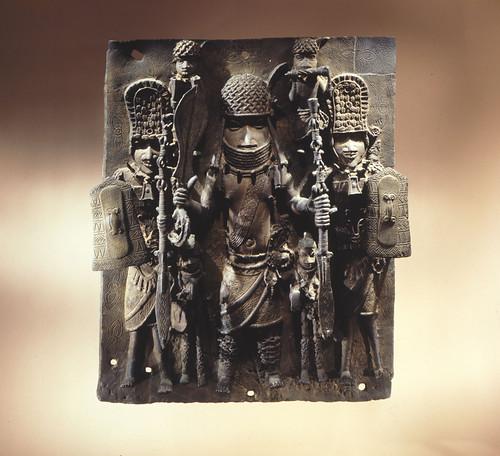 Bronze Plaque from Benin, Nigeria