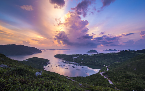 nature clouds sunrise canon landscape hongkong blackcard 5dmarkiii