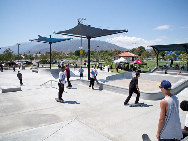 Active, Knox, & The Quiet Life: Summer Skate Park BBQ Tour @ Rialto!