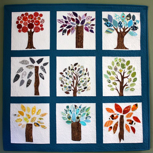 Wonky Quilt Bee - Trees