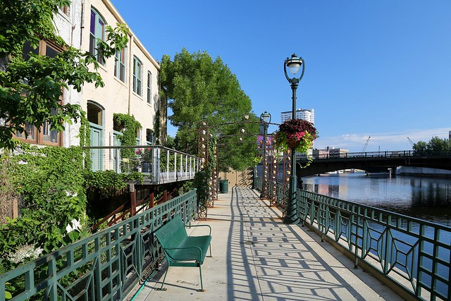 Early Morning on the Riverwalk, July