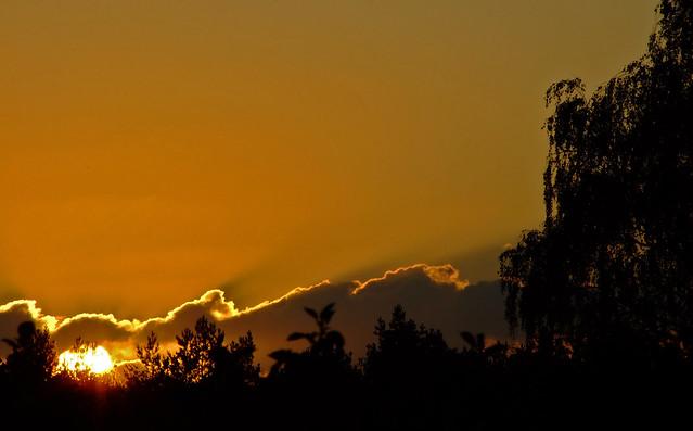 sunset czechyń