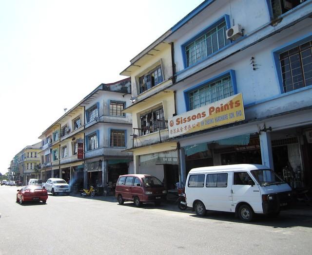 Bintangor shophouses 1