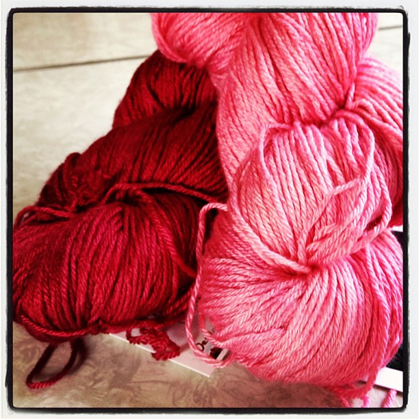 Decisions, decisions... #ravellenicgames #knit #knitting #yarn