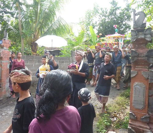 Bali-Funéraille hindoues-Procession (18)