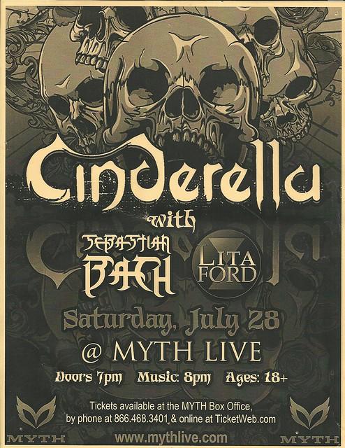07/28/12 Cinderella/ Sebastian Bach/ Lita Ford @ Myth, Maplewood, MN