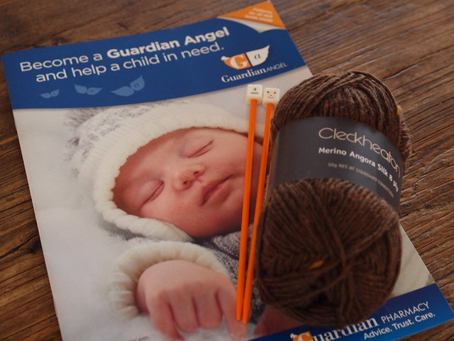 guardian angel knitting