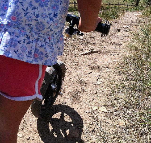 Singletrack - Biking at Wonderland Lake, Boulder, CO