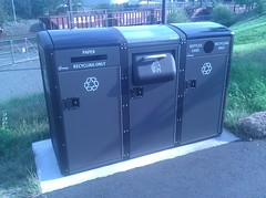 Big Belly Solar Trash Compactors