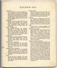 König Bilderrezepte No1: Küchen-ABC