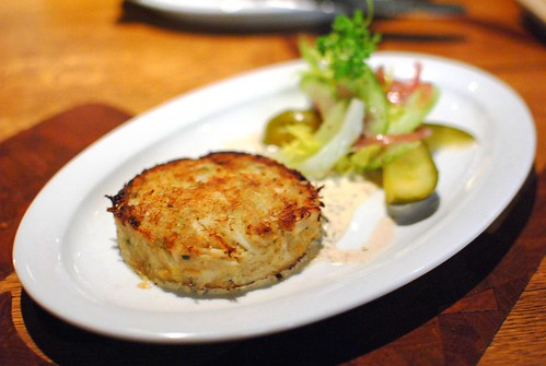CRISFIELD, MARYLAND BLUE CRAB CAKE