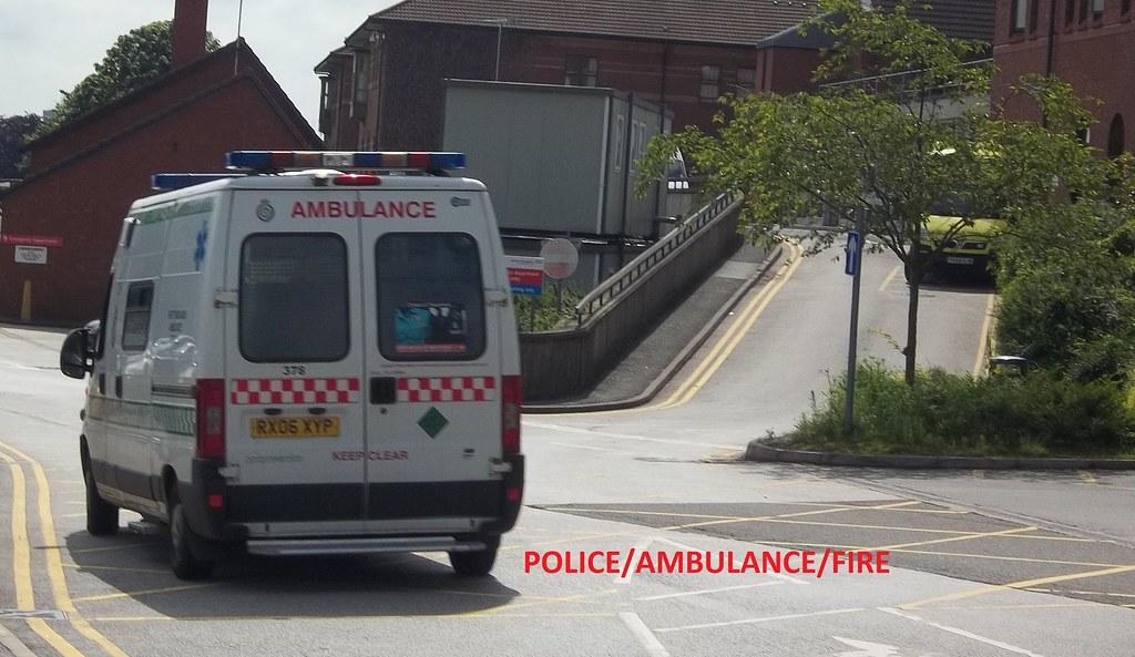 West midlands ambulance service fiat ducato emergency ambulance.