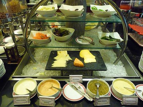 Equatorial hotel penang breakfast cheese platter