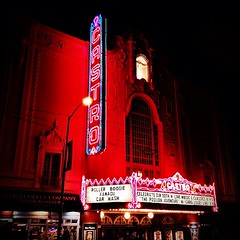 Castro Theatre by night