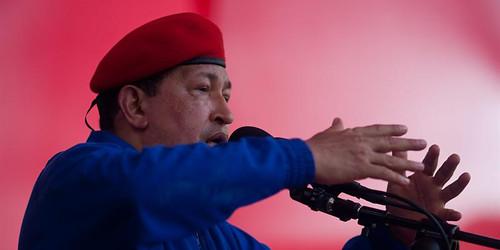 Acto de Campaña del presidente Chávez en Carabobo