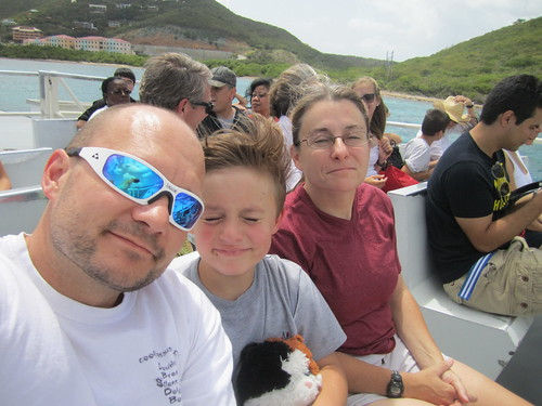 On the ferry to St. John