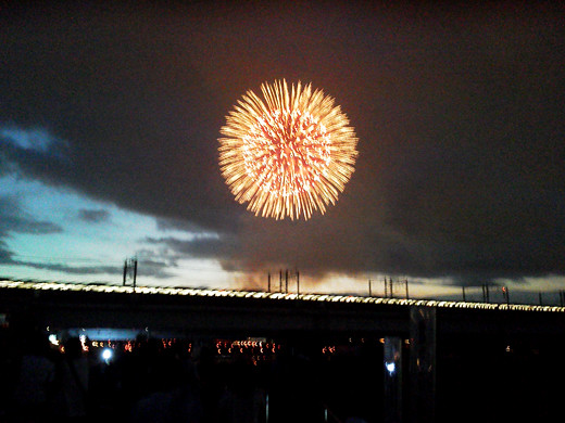 Itabashi fireworks Festival  1