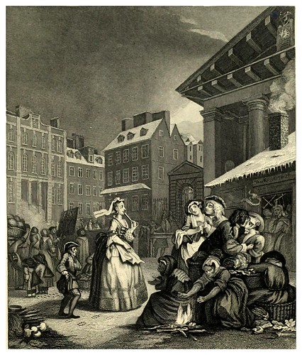 007-Los cuatro momentos del dia- The complete works of William Hogarth..1800
