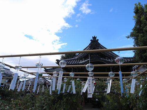 圧巻の風鈴2,500個『風鈴まつり』@おふさ観音(橿原市)