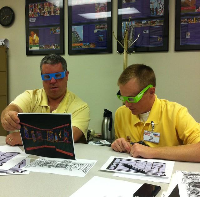 Groovy 3D glasses
