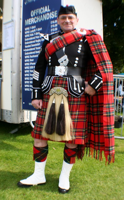 Drum Major, Glasgow Green