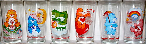 CARE BEAR GLASSES by toypincher
