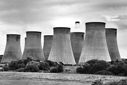Ratcliffe-on-Soar Power Station Near Nottingham