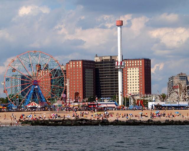 Coney Island Beach New York City Flickr Photo Sharing