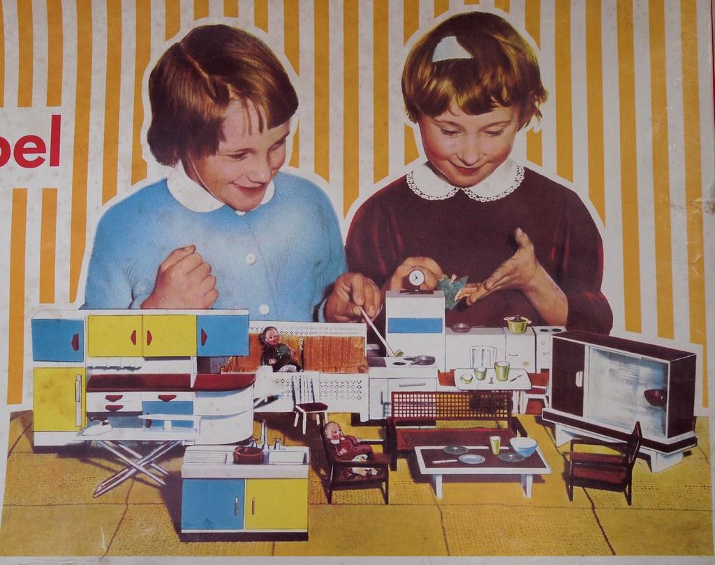 1965 Modella Möbelkarton Diepuppenstubensammlerinblogspot Flickr
